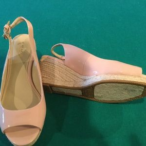 Coach Patent leather wedge